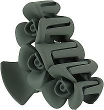 """Духи, Парфюмерия, косметика Крабик для волос большой """"Три розы"""", HA-1241, оливковый - La Rosa"""