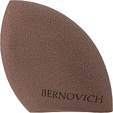 Духи, Парфюмерия, косметика Спонж для макияжа, капля со срезом, коричневый - Bernovich