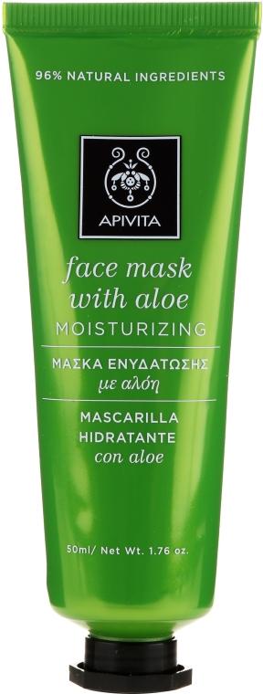 Увлажняющая маска с алоэ - Apivita Moisturizing Mask