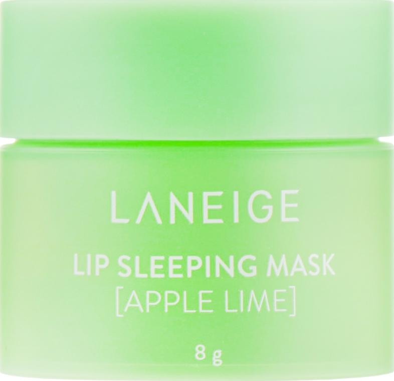 Интенсивно регенерирующая маска для губ с ароматом яблока и лайма - Laneige Lip Sleeping Mask Apple Lime (мини)