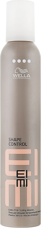 Пена для укладки волос экстрасильной фиксации - Wella Professionals EIMI Styling Shape Control