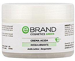 Духи, Парфюмерия, косметика Балансирующий, увлажняющий крем для проблемной кожи - Ebrand Crema Acida Riequilibr