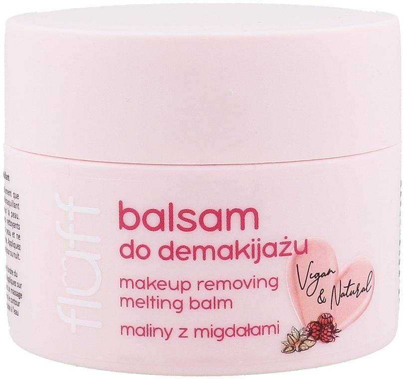 """Бальзам для демакияжа """"Малина и миндаль"""" - Fluff Makeup Removing Melting Balm"""