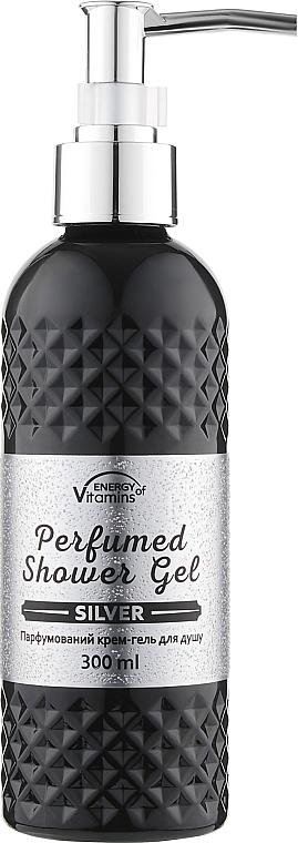 Парфюмированный крем-гель для душа - Energy of Vitamins Perfumed Silver