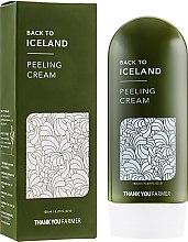 Духи, Парфюмерия, косметика Крем-пилинг для лица - Thank You Farmer Back To Iceland Cream