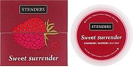 "Духи, Парфюмерия, косметика Желейное мыло для душа клубнично-малиновое ""Сладкий грех"" - Stenders Strawberry/Raspberry Jelly Soap Sweet Surrender"