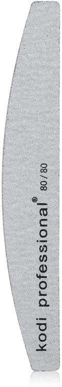 Пилка для ногтей - Kodi Professional (Half Grey, 80/80) — фото N1