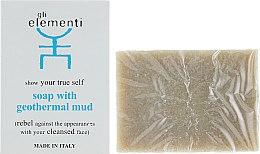 Духи, Парфюмерия, косметика Мыло на основе геотермальной грязи - Gli Elementi Soap With Geothermal Cleansing Mud