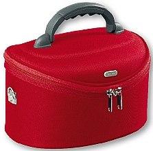 Духи, Парфюмерия, косметика Косметичка большая овальная, 95085, красная - Top Choice Oval Red