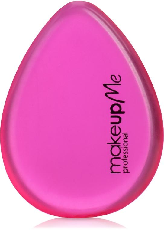 Силиконовый спонж для макияжа каплеобразной формы, розовый - Make Up Me Siliconepro