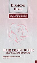 Парфумерія, косметика Кондиционер для волос - BioFresh Diamond Rose Hair Conditioner (пробник)