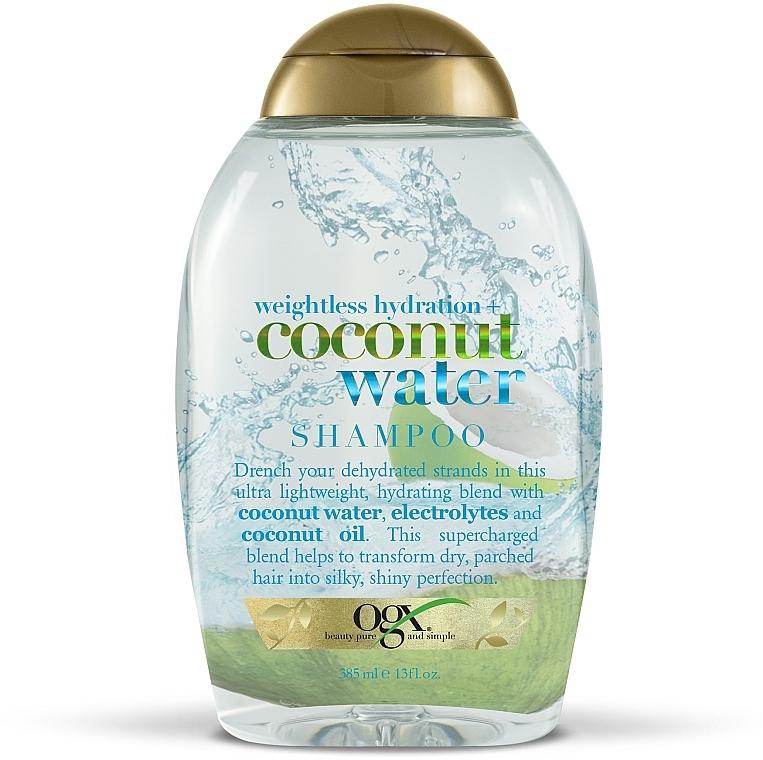 """Шампунь с кокосовой водой """"Невесомое увлажнение"""" - OGX Coconut Water Weightless Hydration Shampoo"""