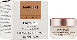 Духи, Парфюмерия, косметика Бальзам для кожи вокруг глаз - Marbert Anti-Aging Care PhytoCell Eye Balm