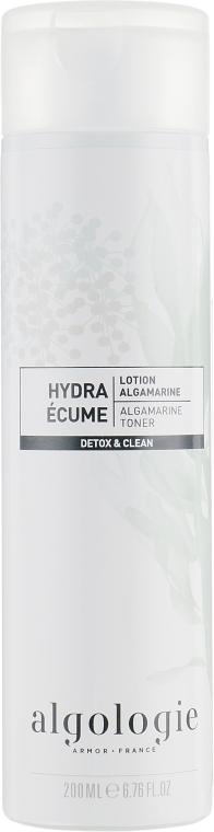 Увлажняющий альгамариновый тоник для лица - Algologie Detox & Clean Algamarine Toner