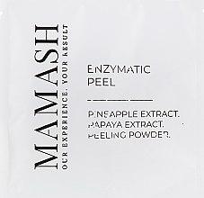 Энзимный пилинг для лица с экстрактом папайи и ананаса - Mamash  — фото N1