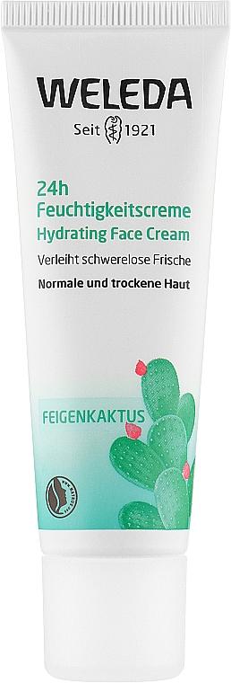 """Крем для лица """"Кактус Опунция. 24 часа увлажнение"""" - Weleda 24H Hydrating Face Cream"""