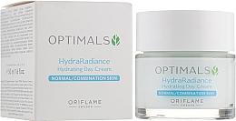 Духи, Парфюмерия, косметика Увлажняющий дневной крем для нормальной и комбинированной кожи - Oriflame Optimals Hydra Radiance