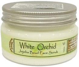 "Духи, Парфюмерия, косметика Скраб для лица ""Белая орхидея"" - Lemongrass House White Orchid Jojoba Bead Face Scrub"