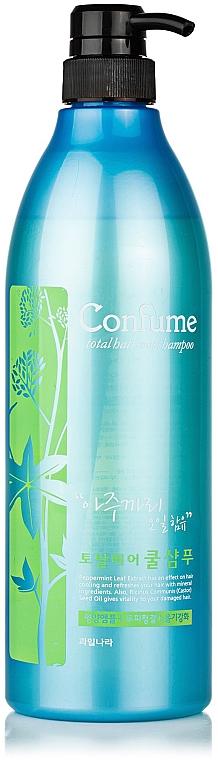 Охлаждающий шампунь с касторовым маслом - Welcos Confume Total Hair Cool Shampoo