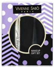 Духи, Парфюмерия, косметика Набор (mascara/9ml + eyeliner/6ml) - Vivienne Sabo Cabaret Premiere + Charbon