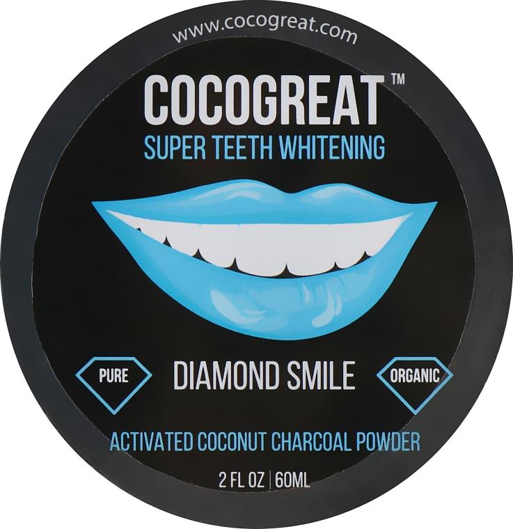 Зубной порошок для отбеливания зубов с кокосовым углем - Cocogreat Super Teeth Whitening