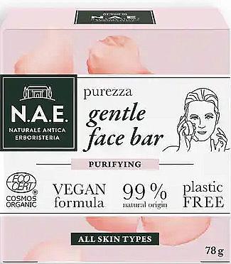 Мыло для лица - N.A.E. Purezza Gentle Face Bar
