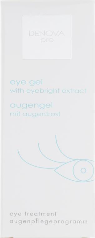Гель под глаза с экстрактом очанки - Denova Pro Eye Gel With Eyebright Extract