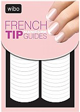 Духи, Парфюмерия, косметика Наклейка-трафарет для французского маникюра - Wibo French Manicure Tip Guides