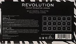 Палетка теней для век - Makeup Revolution Wild Animal — фото N3