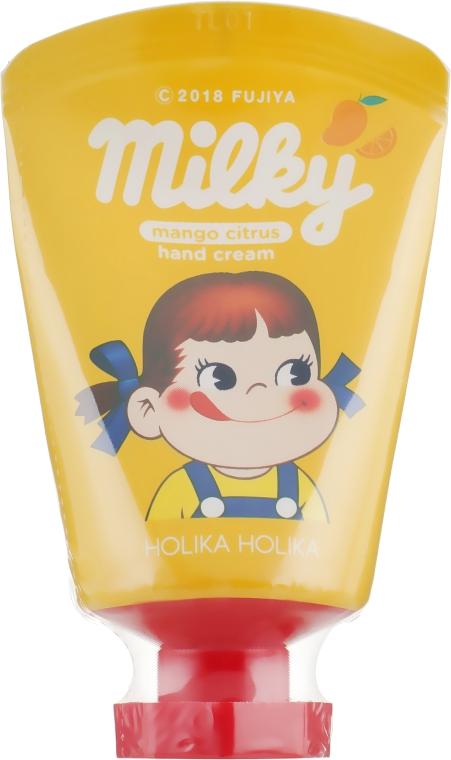 "Крем для рук ""Манго-цитрус"" - Holika Holika Peko Chan Hand Cream Mango Citrus"