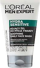 Духи, Парфюмерия, косметика Успокаивающий гель для умывания - Loreal Paris Men Expert Hydra Sensitive Face Wash