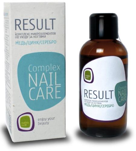 Концентрированный бустер для восстановления ногтей и профилактики грибка - Result Nail Care