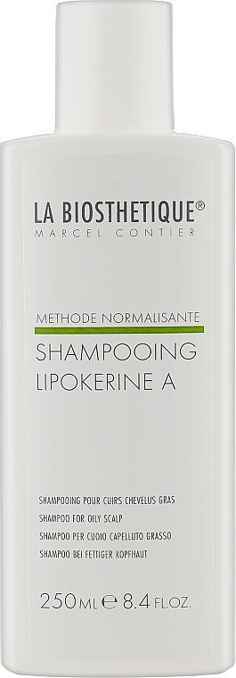 Шампунь для жирной кожи головы - La Biosthetique Methode Normalisante Shampooing Lipokerine A