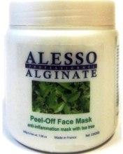 Духи, Парфюмерия, косметика Маска для лица альгинатная противовоспалительная с маслом чайного дерева - Alesso Professionnel Alginate Anti-Inflammation Peel-Off Face Mask With Tea Tree