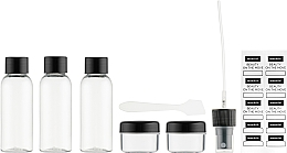 Духи, Парфюмерия, косметика Дорожный набор туалетных принадлежностей из 5 емкостей - Makeup