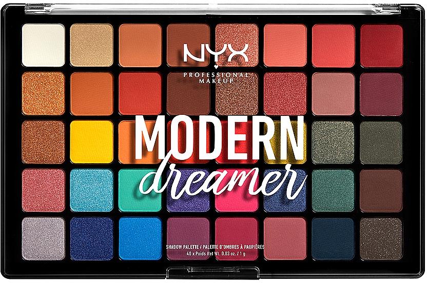 Палетка теней для век - NYX Professional Makeup Modern Dreamer
