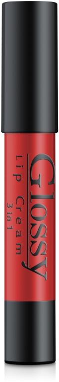 Кремовый блеск для губ - Colour Intense Glossy Lip Cream 3in1