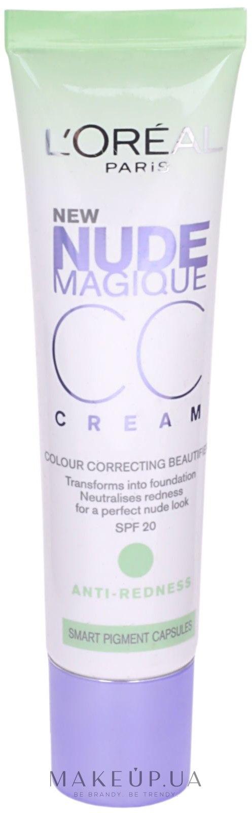 LOréal Paris Cosmetics Nude Magique CC Cream - Anti