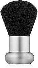 Духи, Парфюмерия, косметика Кисть для румян короткая, серебристая - Alcina Balance Make-Up Blusher Brush