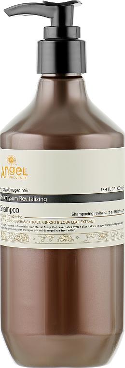 Шампунь для сухих и поврежденных волос с экстрактом бессмертника - Angel Professional Paris Provence Shampoo