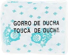 Духи, Парфюмерия, косметика Шапочка для душа 01542, бело-голубая - EuroStil Shower Cap Printing