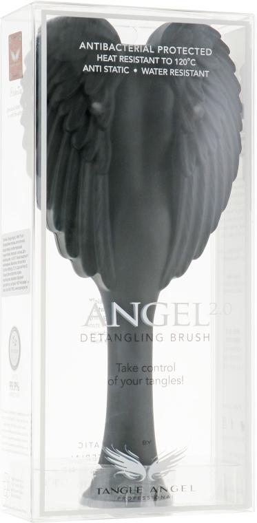 Расческа для волос - Tangle Angel 2.0 Detangling Brush Black