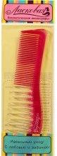 Духи, Парфюмерия, косметика Гребень моделирующий цветной, красный - Ласковая