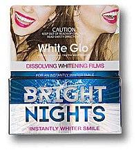 Духи, Парфюмерия, косметика Отбеливающие полоски - White Glo Bright Nights Dissolving Whitening Films