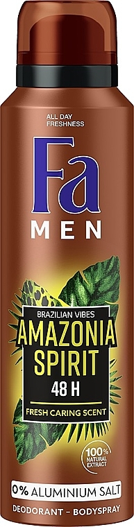 """Дезодорант-спрей """"Ритмы Бразилии. Amazonia Spirit"""" - Fa Men"""