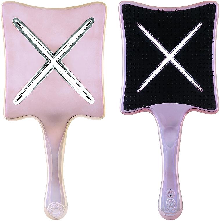 Расческа-детанглер - Ikoo Paddle X Metallic Manhattan Glam