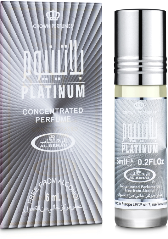 Al Rehab Platinum - Масляные духи (мини)