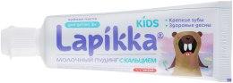 """Дитяча зубна паста з кальцієм """"Молочний пудинг"""" - Lapikka Kids 3+ — фото N2"""