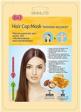 """РАСПРОДАЖА Маска-шапочка для волос 2в1 """"Интенсивное восстановление"""" - Skinlite Hair Cap Mask 2 in 1 Intensive Recovery*"""