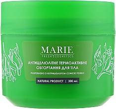 Духи, Парфюмерия, косметика Антицеллюлитное термоактивное обертывание для тела - Marie Fresh Cosmetics